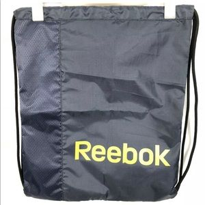 Reebok Workout Drawstring Bag Storage Sackpack